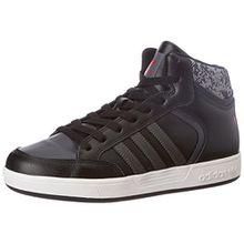 adidas Unisex-Kinder Varial Mid Sneakers, Schwarz (Core Black/DGH Solid Grey/Scarlet), 35 EU