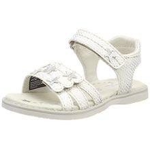 Lurchi Mädchen Lulu Offene Sandalen, Weiß (White), 28 EU
