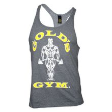 Golds Gym Classic Golds Gym Stringer Tank Top 100% Baumwolle (Arctic Grey, S)