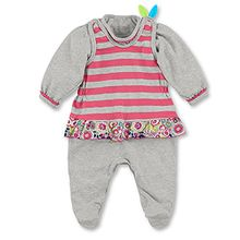 Sterntaler Baby-Mädchen Strampler 2601621, Rosa (Begonie 726), 62