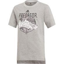 ADIDAS PERFORMANCE T-Shirt graumeliert / schwarz / weiß