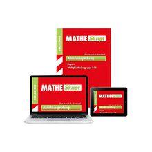 Buch - MATHE Skript, Abschlussprüfung Realschule Bayern Wahlpflichtfächergruppe II/III, m. ActiveBook DVD-ROM
