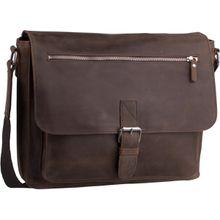 Leonhard Heyden Notebooktasche / Tablet Salisbury 7652 Schultertasche M Braun
