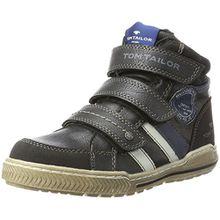 TOM TAILOR Jungen 3770403 Hohe Sneaker, Schwarz (Black), 33 EU