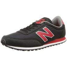 New Balance U410 D, Damen Sneaker Schwarz Noir (Cpb Black/Red) 44