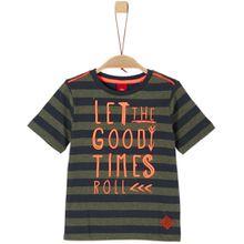 s.Oliver T-Shirt - Schriftzug