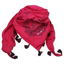 Alpenflüstern Damen Dreiecks-Trachtentuch Hirsch ATX02600025 pink