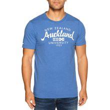 New Zealand Auckland T-Shirt in blau für Herren