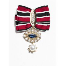 Ribbon Brooch - Red