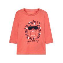 NAME IT Shirt orangerot