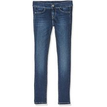 Pepe Jeans Mädchen Jeans Cutsie, Blau (Denim), 8 Jahre