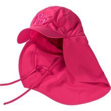 Sonnenhut , mit UV-Schutz pink Mädchen Kinder