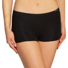 Skiny Damen Panties Essentials Women Pant Gr. 42, Schwarz (7662 BLACK)