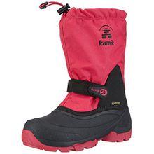 Kamik WATERBUG5G, Unisex-Kinder Schneestiefel, Pink (Ros-Rose), 26 EU
