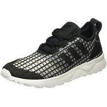 adidas Damen ZX Flux ADV Verve Sneakers, Schwarz (Core Black/Core Black/Core White), 38 EU