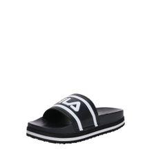 FILA Pantolette schwarz / weiß