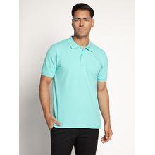 Mishumo Poloshirt Regular Fit in grün für Herren