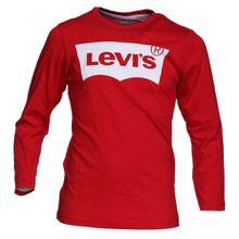 Levis Langarmshirt mit Logo-Print