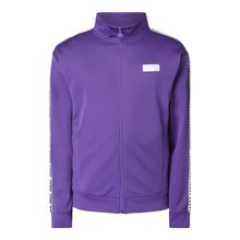 Athletic Fit Trainingsjacke mit Logo-Applikation