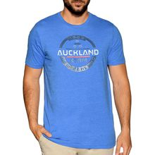 New Zealand Auckland T-Shirt in blau für Herren