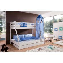 Relita Turmset groß Spielbetten, Delphin, blau/hellblau  Kinder