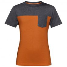 Jack Wolfskin - Palouse T Boys - T-Shirt Gr 176 braun/schwarz/orange