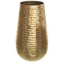 Goldene Aluminium Vase H45 cm gold