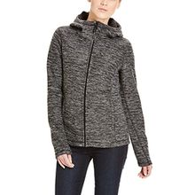 Bench Damen Strickjacke Furthermost, Schwarz (Black BK014-WH001), X-Small
