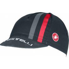 Castelli - Podio Doppio Herren Bike Cap (dunkelblau/rot) - UNI