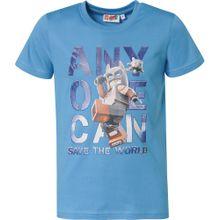 LEGO WEAR T-Shirt rauchblau / mischfarben