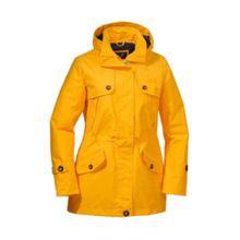 Jack Wolfskin Jacke QUEENSTOWN COAT Outdoorjacken gelb Damen