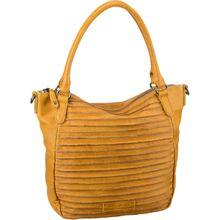 Fredsbruder Handtasche Riffelherzchen Deep Yellow