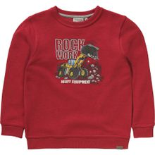 SALT AND PEPPER Sweatshirt gelb / rot / schwarz