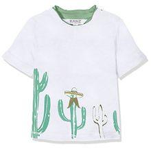 Kanz Baby-Jungen T-Shirt 1/4 Arm, Weiß (Bright White 1000), 68