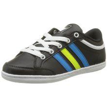 adidas Originals Plimcana Low K, Unisex-Kinder Sneaker, Schwarz - Schwarz - Noir (Noir1/Blesol/Lectri) - Größe: 35