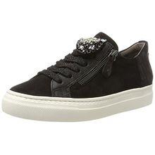 Paul Green Damen 4542001_37 Sneaker, Schwarz (Black), 37 EU