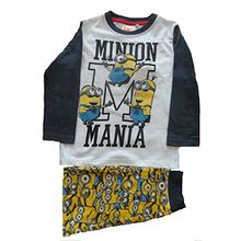 Kinder Minions Pajamas / Pyjamas, 4 Jahre, Grau Sleeves
