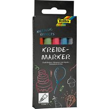 Kreidemarker Metallic, 5er Set