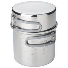 Esbit - Edelstahl Topf - Topf Gr 1000 ml;625 ml grau
