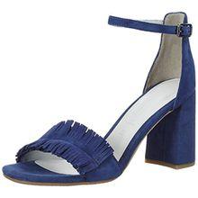 GERRY WEBER Shoes Damen Tatjana 02 Riemchensandalen, Blau (Jeans), 39 EU (6 UK)