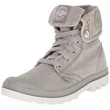 Palladium Baggy, Damen Desert Boots, Grau (Concrete/Silver Birch), 38 EU (5 Damen UK)