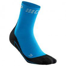 CEP - Women's Winter Short Socks - Laufsocken Gr II;III;IV blau/schwarz;schwarz