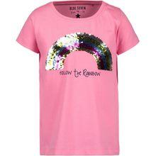 Blue Seven Rundhals T-Shirt - Regenbogen