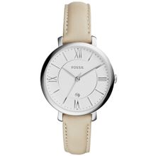 FOSSIL Armbanduhr 'JACQUELINE' nude / silber