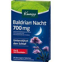 Kneipp Gesundheit Nahrungsergänzung Baldrian Nacht 700 mg 1 Stk.