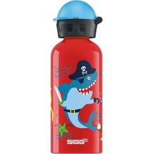 SIGG Alu-Trinkflasche Underwater Pirates, 400 ml rot-kombi