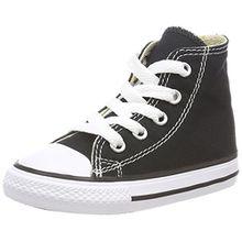 Converse Chuck Taylor All Star, Unisex-Kinder Hohe Sneakers, Schwarz (Black), 27 EU