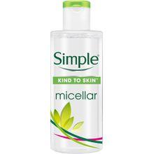 Simple Gesichtspflege Reinigendes Mizellenwasser