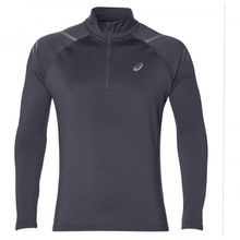 Asics - Icon Winter L/S 1/2 Zip Top - Laufshirt Gr L;M;S schwarz;blau