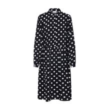 VILA Kleid 'Vidotla' schwarz / weiß